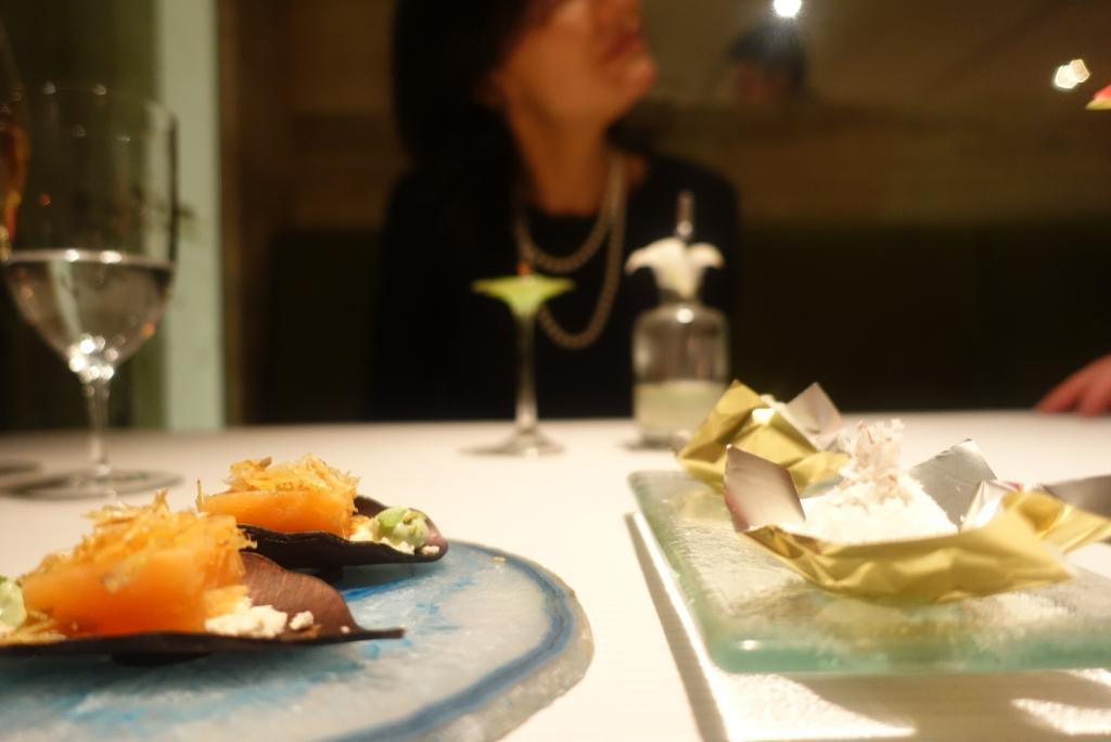 04 - JW Menu - Fish Finger & Pina Colada coconut pineapple & wasabi