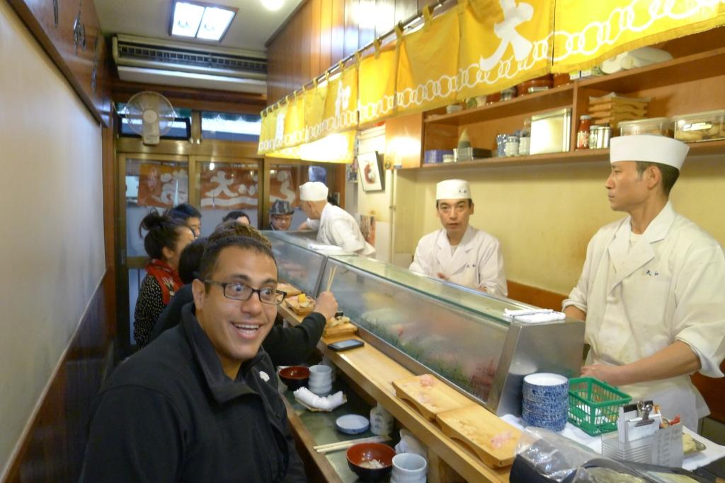 02 Sushi Daiwa - Interior