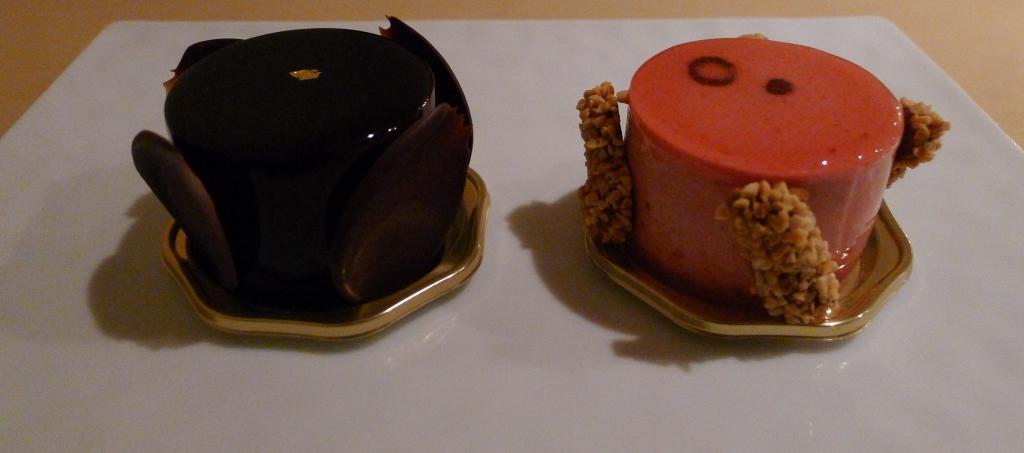 03 Hidemi Sugino - Ambroisie (Chocolate Pistachio) and La Harmonie (Cherry Almond)