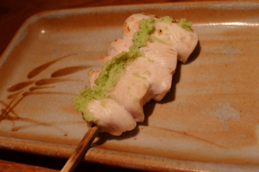 03 Toriki - Sabiyaki White Breast wWasabi (Almost Rare)