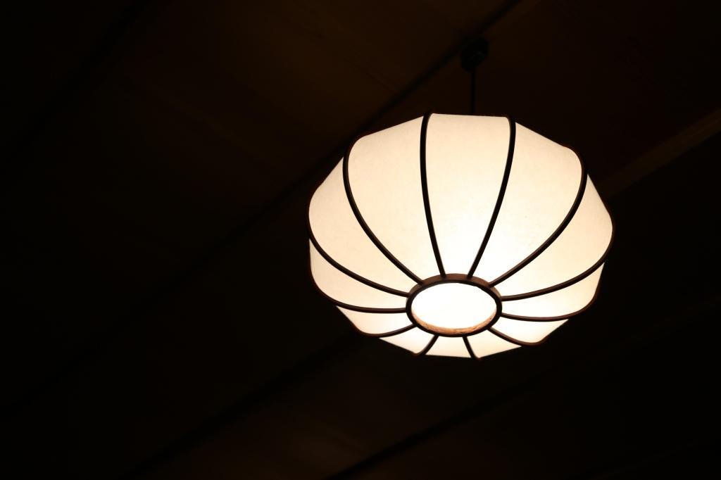 04 Kitcho Arashiyama Honten - Lamp