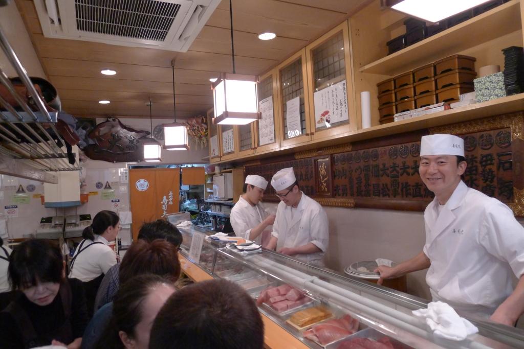06 Sushi Dai - Interior