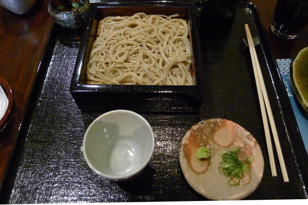06 Tamawarai - Cold Soba