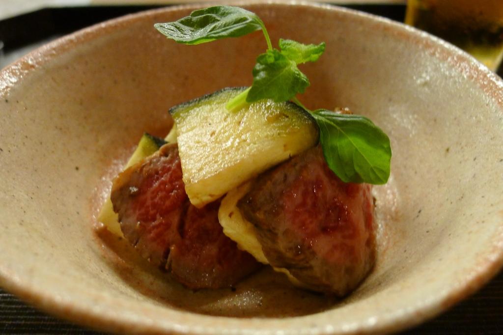 07 Isshin - Beef and eggplant