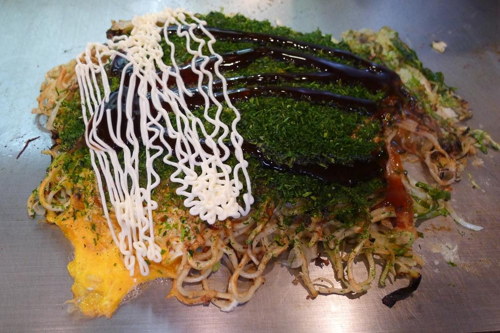 08 Akira eight 八昌 - Okonomiyaki ith Sauce