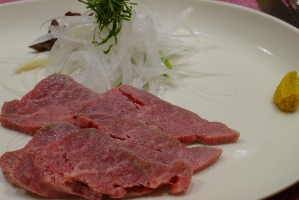 08 Shima - Raw Wagyu Beef with onion