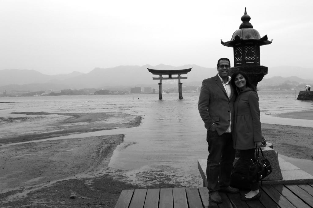 11 Itsukushima Shinto Shrine BW