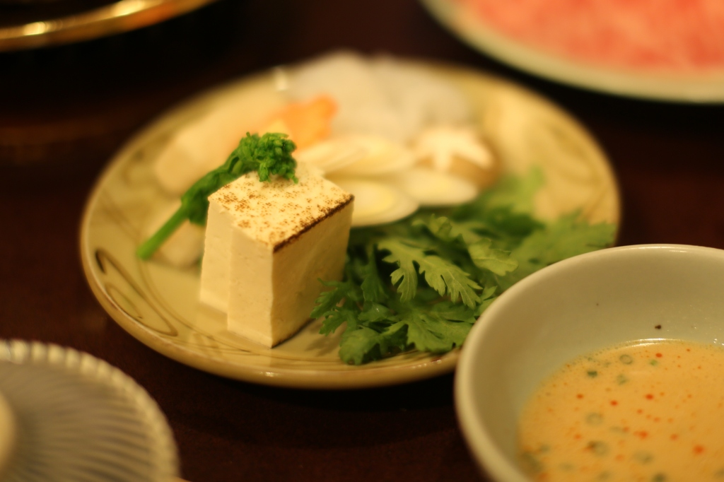 11 Ningyocho Imanhan - Tofu and Vegetables