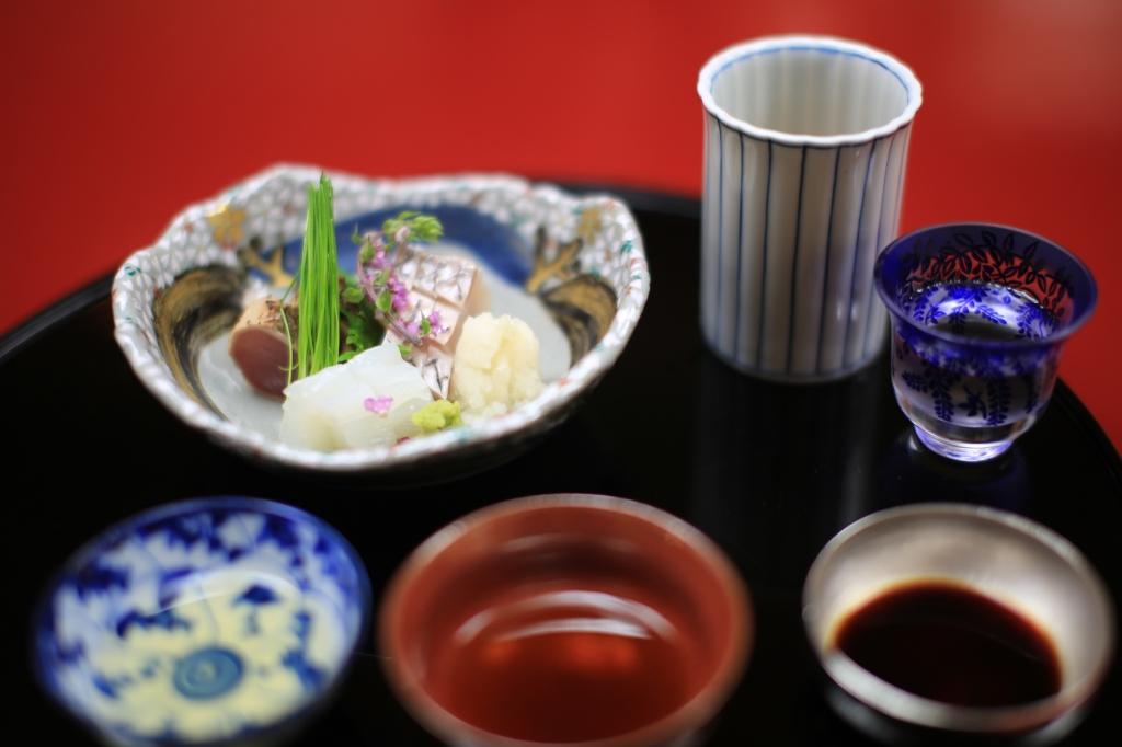 12 Nakamura - Squid, Bonito, Daikon, Sea Bream, Shisho Leaf and Edible FLowers