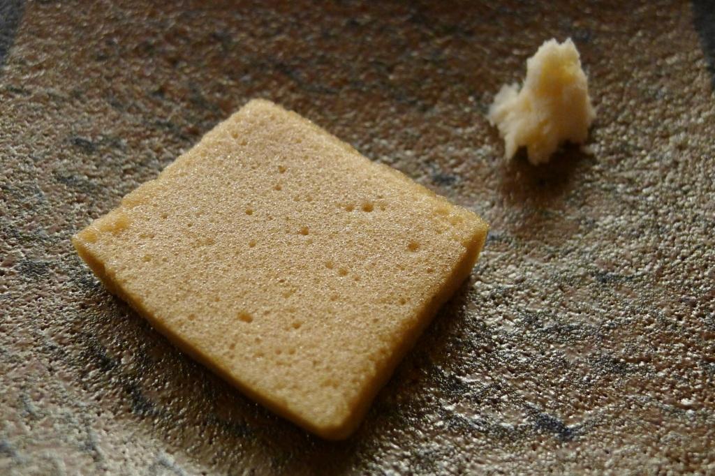 14 Isshin - Horseradish and soy sauce foam