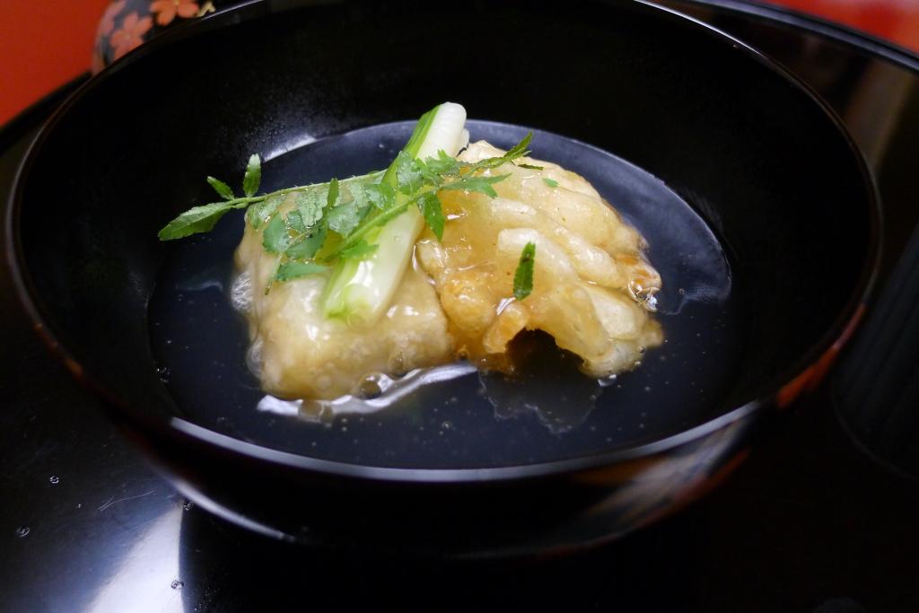 15 Nakamura - Cod fish tempura & Tofu tempura