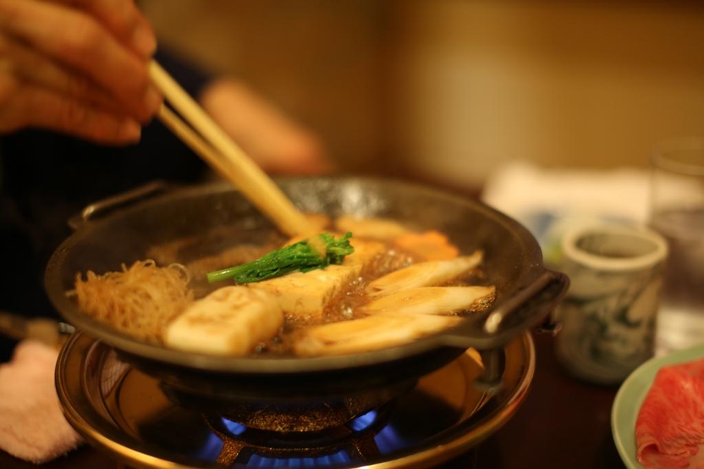 15 Ningyocho Imanhan - Vegetables Sukiyaki