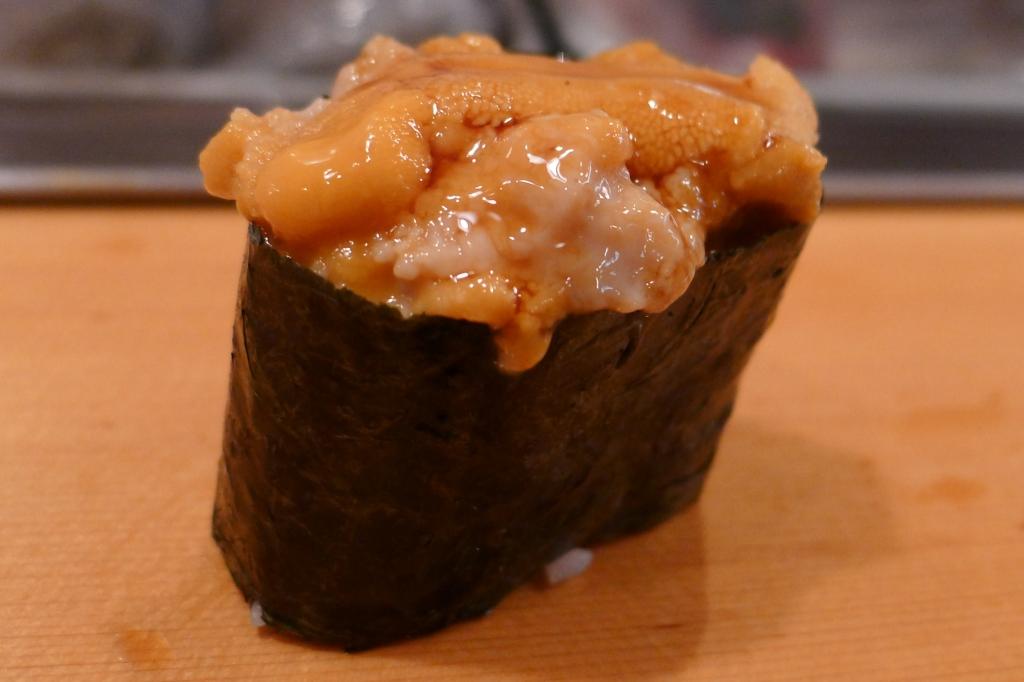 16 Sushi Dai - Uni Sea Urchin