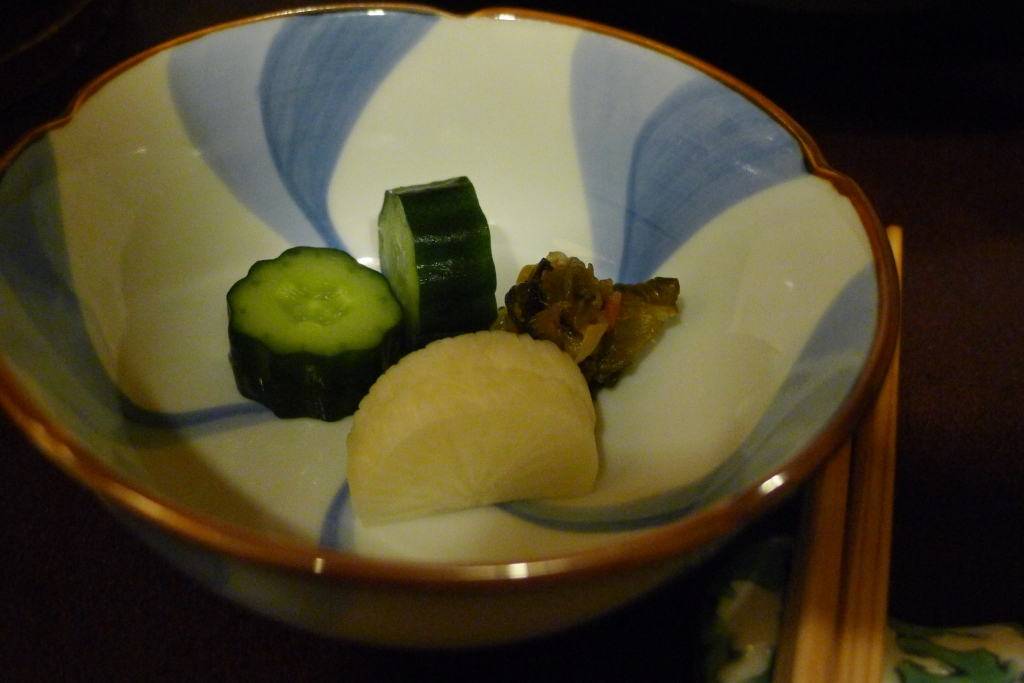 18 Ningyocho Imanhan - Pickled Vegetables