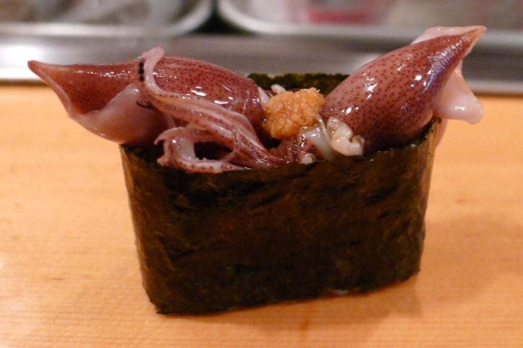 18 Sushi Dai - Baby squid
