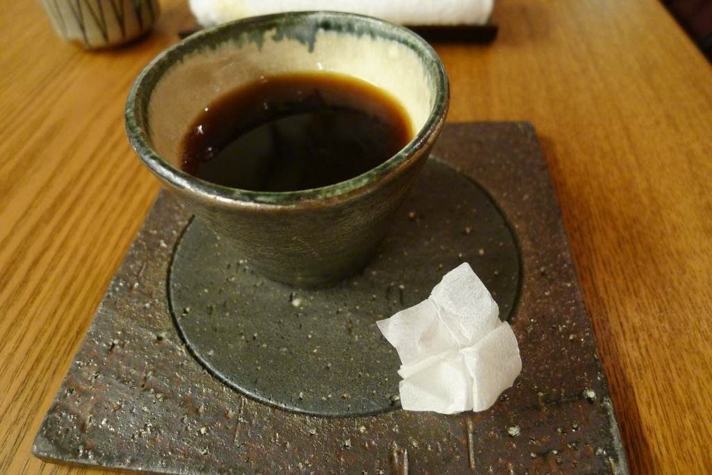 21 Isshin - Coffee with sugar