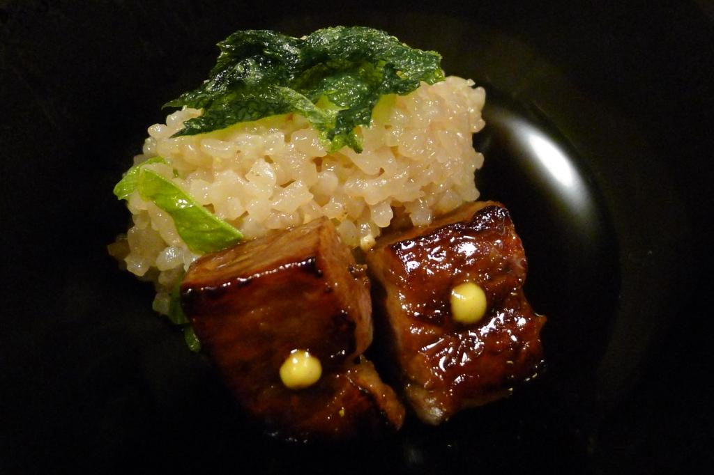 25 Kitcho Arashiyama Honten - Rice with Kyoto Beef