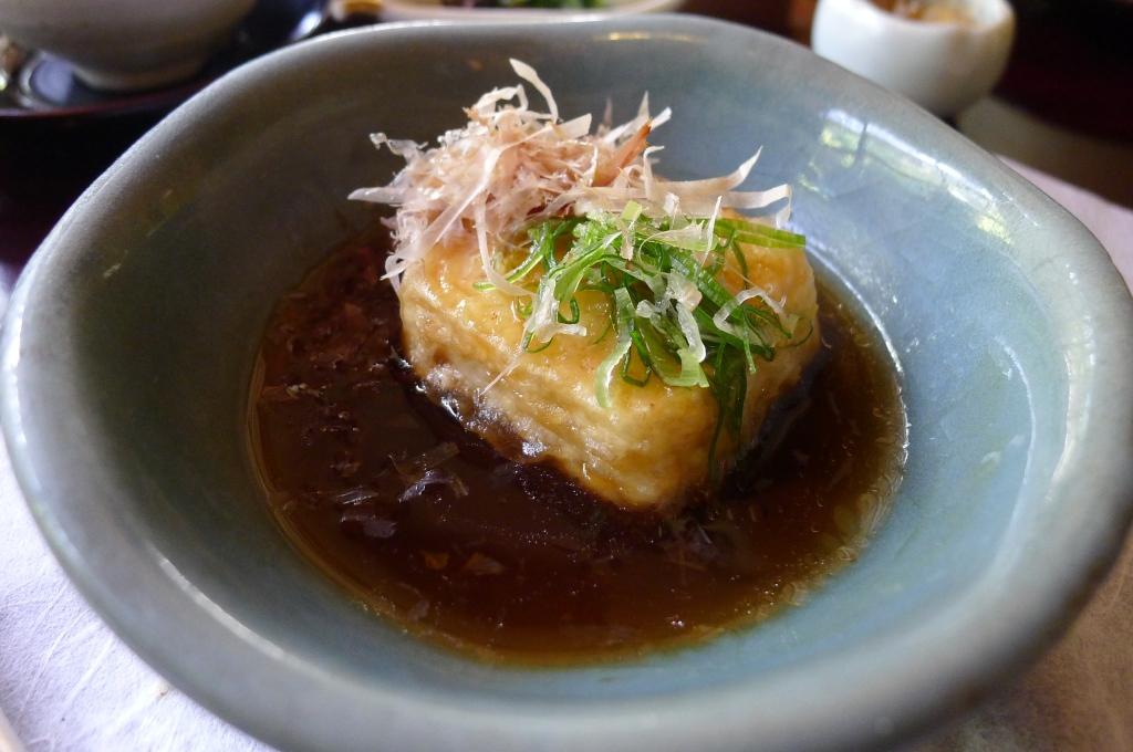26 Shoraian - Fried tofu