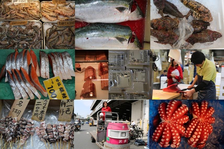 Tsukiji Fish Market 04